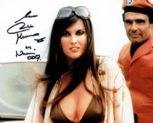 Caroline Munro Autograph Signed Photo - James Bond